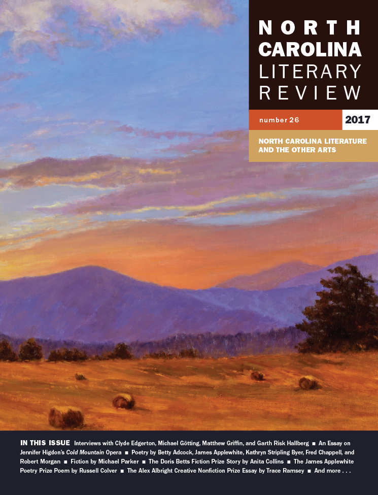 north carolina literary review view details about the nclr 2015 online issue
