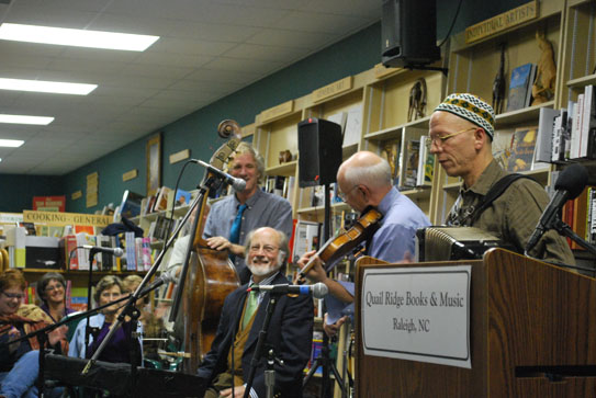Photo of Red Clay Ramblers at Quail Ridge Books